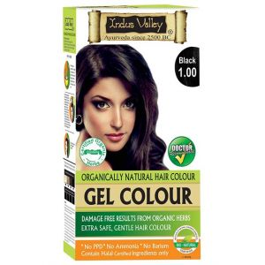 753c8467b405f Gel One Touch Pack Hair Colour Black 1.00